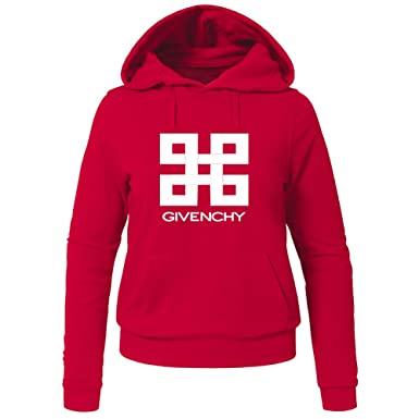 0d593ff8c GIVENCHY Printed For Ladies Womens Hoodies Sweatshirts Pullover Outlet:  Amazon.co.uk: Clothing