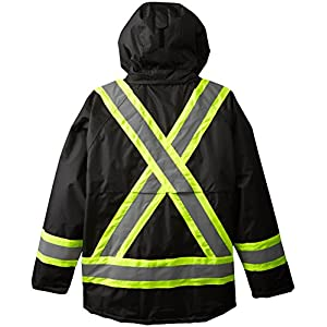 Viking Professional Insulated Journeyman FR Waterproof Flame Resistant Jacket, Black, 3XL