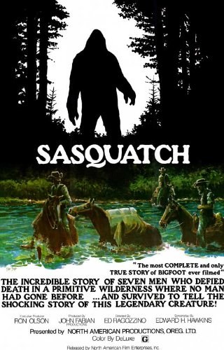 Sasquatch, the Legend of Bigfoot 11 x 17 Movie Poster - Style A