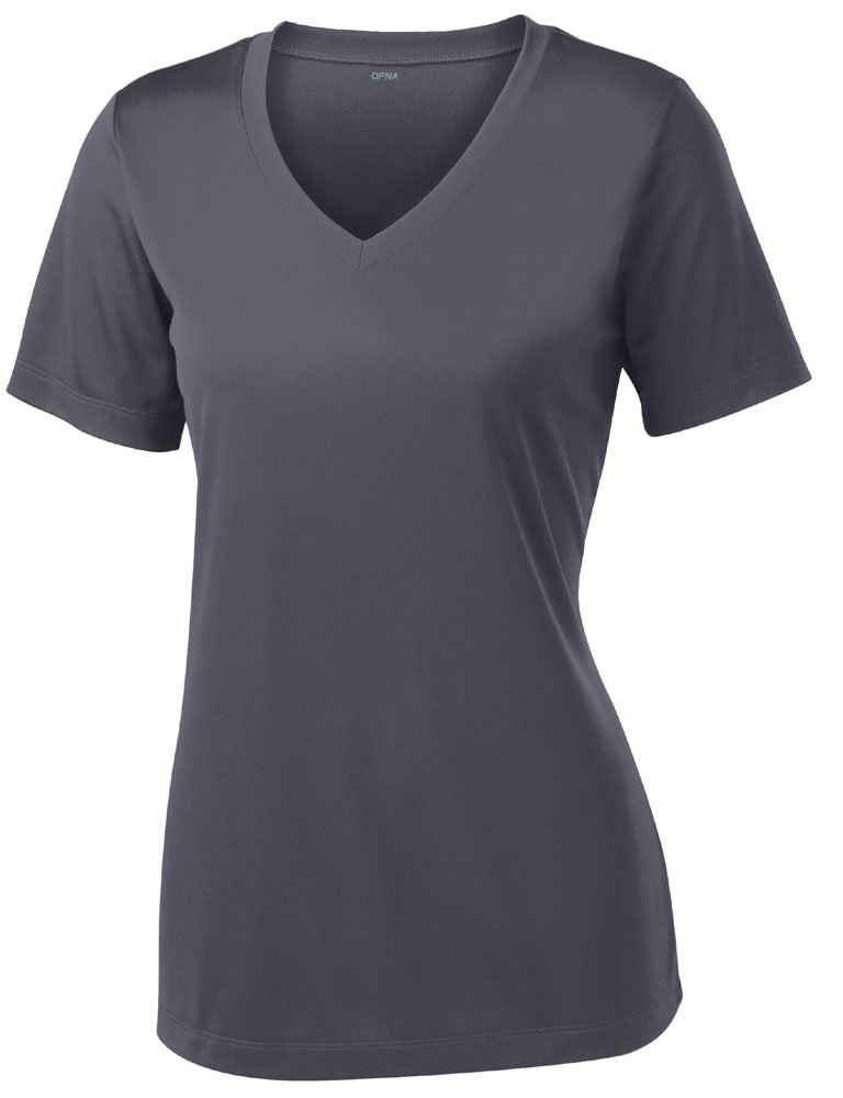 Opna Women's Short Sleeve Moisture Wicking Athletic Shirts Sizes XS-4XL 2114