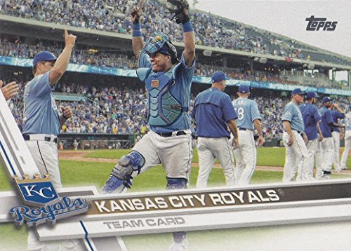 Kansas City Royals 2017 Topps Complete Mint Hand Collated Team Set with Salvador Perez Eric Hosmer Lorenzo Cain -