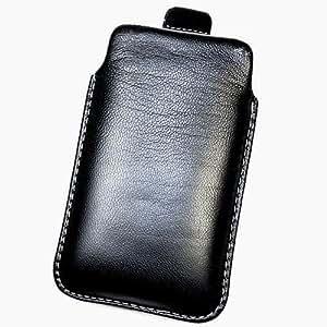 Funda de protección de piel sintética, para Samsung Galaxy Exhibit T599