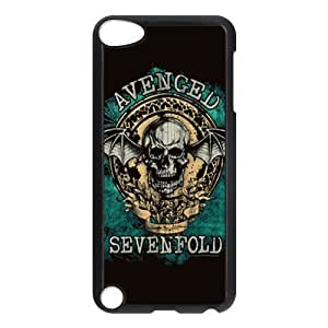 Avenged Sevenfold Snap On For Case Iphone 4/4S Cover, For Case Iphone 4/4S Cover, Protector For Case Iphone 4/4S Cover (Black/White)