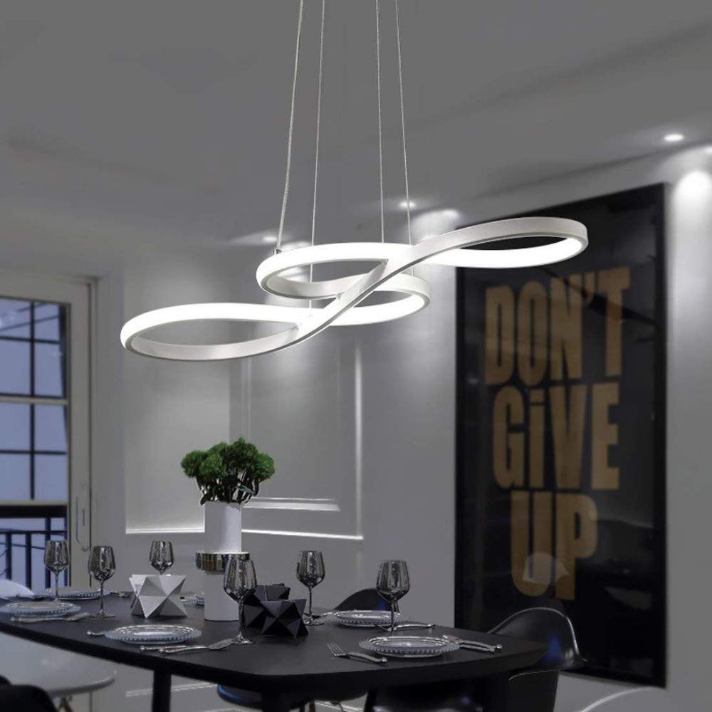 Led Suspension Lamp 58w Dimmable 3000k 4500k 6000k