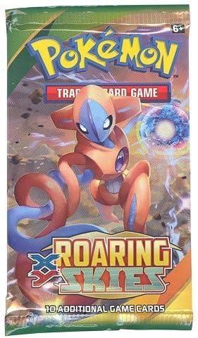 Pokemon X & Y Roaring Skies Booster Pack: Amazon.es: Juguetes y juegos