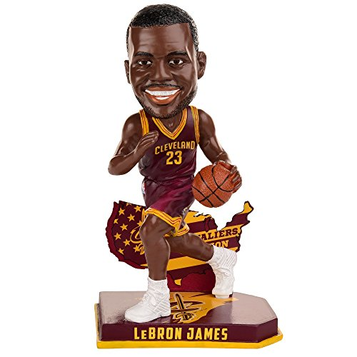 Cleveland Cavaliers James L. #23 Nation Bobble (Bobble James Head)