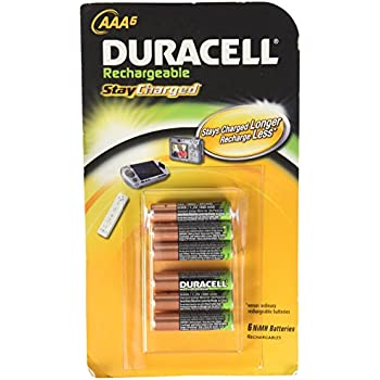 Amazon.com: Duracell AAA Rechargeable Batteries (Pack of 6
