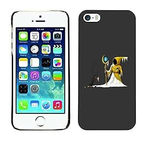 Be Good Phone Accessory // Dura Cáscara cubierta Protectora Caso Carcasa Funda de Protección para Apple Iphone 5 / 5S // The Yellow Wizard