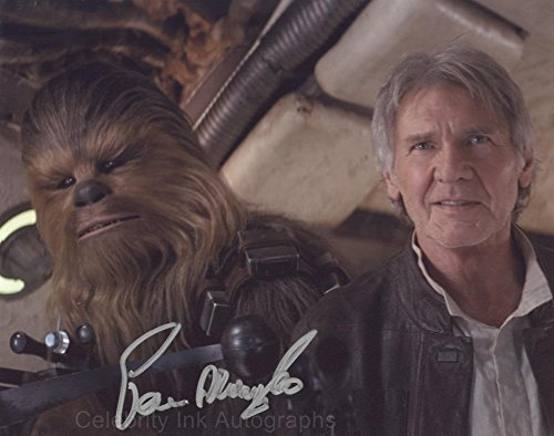 PETER MAYHEW as Chewbacca - Star Wars GENUINE AUTOGRAPH
