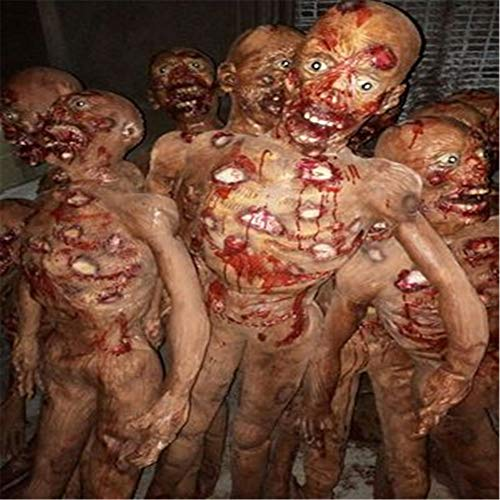 Halloween Decoration Props, Male and Female Standing Corpses, Ghosts, Horror Ornaments]()