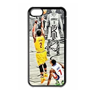 COOL phone case,For black plastic iphone 5c case with Kyrie Irving #2 All-Star Basketball Pattern at Run horse store