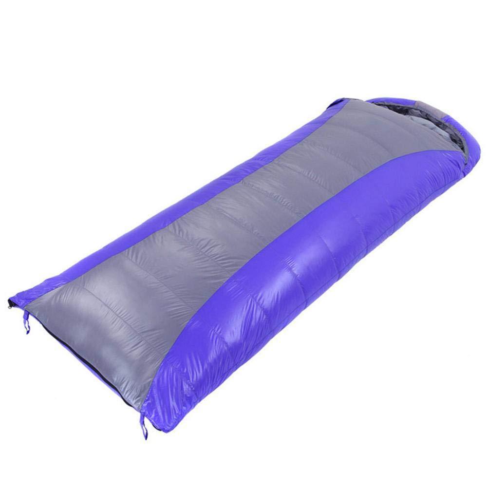 QINJLI Umschlag Typ Schlafsack Erwachsene im freien warm Verdickung Winter Camping superleicht Single Sein kann gespleißt 1100 g