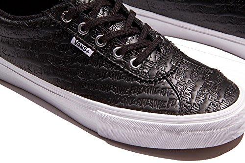 Noir pour Baskets Vans noir homme qF7cxv