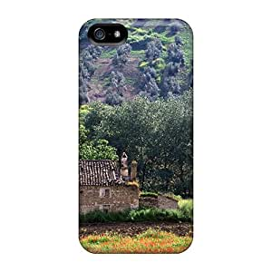 Tpu Case For Iphone 5/5s With Stone House In Alucia Spain