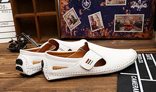 Femaroly Bianco 5 Uomo White 39 EU Slippers qqS71OWT