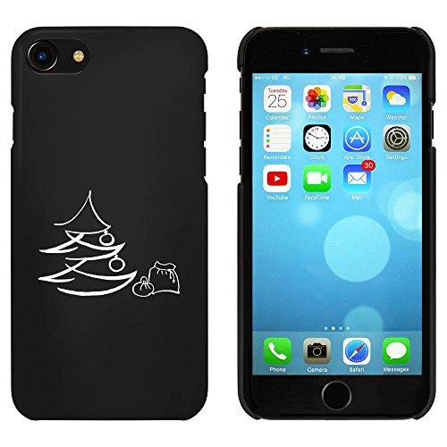 Schwarz 'Weihnachtsbaum & Sack' Hülle für iPhone 7 (MC00060419)
