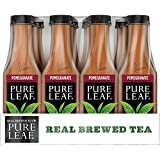 Pure Leaf Iced Tea, Pomegranate, Real Brewed Tea, 18.5 Ounce (Pack of 12)