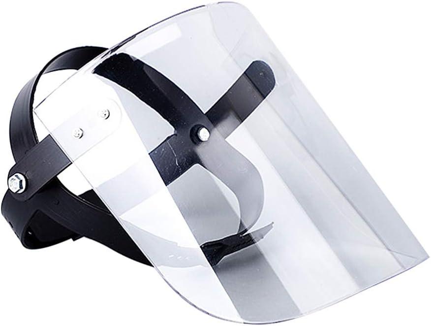 NONE Máscaras de Seguridad, Máscaras de Protección Personal Ajustables, Transparentes Y Reutilizables, Máscaras de Protección Contra La Vómito para Niñas (1)
