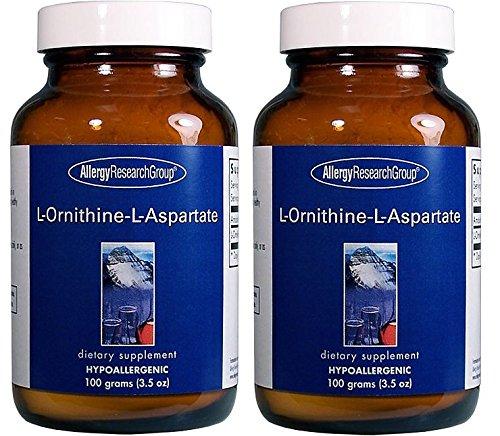 L-オルニチン-L-アスパラギン酸塩 (L-Ornithine-L-Aspartate 3.5 oz. (100 grams) ) [海外直送品] 2ボトル B00UKSQVU0