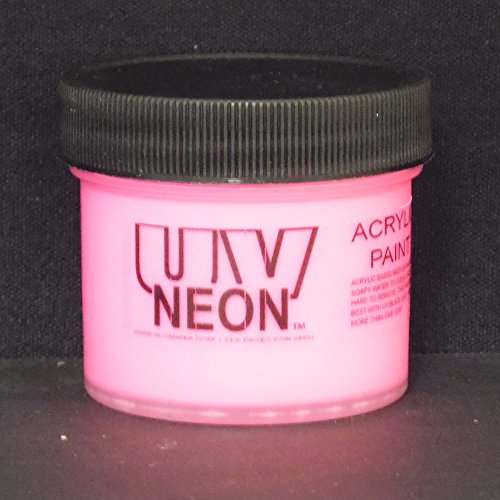 HOT Pink UV Black Light 1oz, Neon, Rave, Fluorescent, Acrylic -