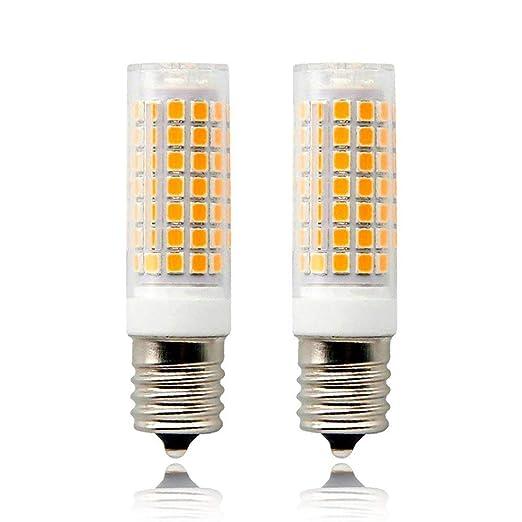 E17 LED bombilla microondas horno luz regulable 8,5 W blanco ...