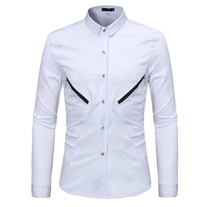 Winwintom -Camisas Hombre Camisa para Hombre 0bb3c818a86