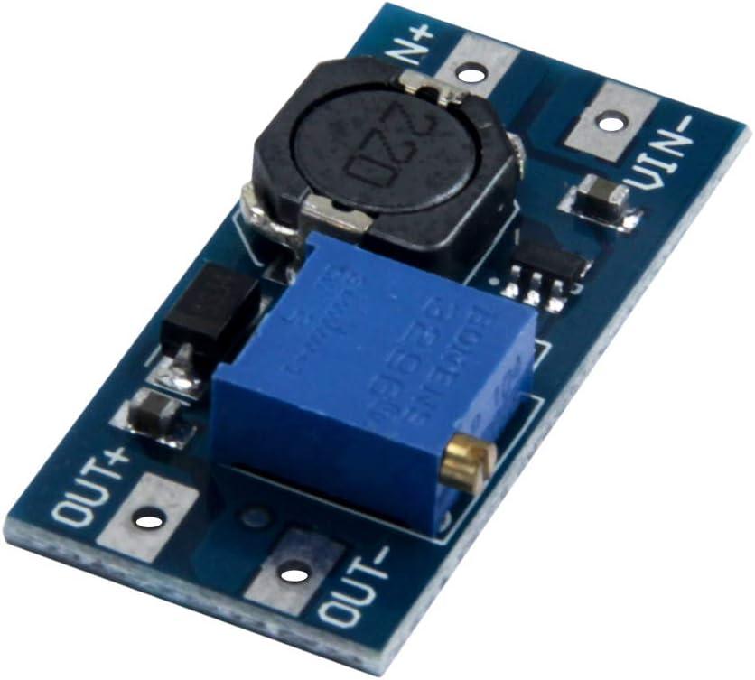 6PCS TeOhk Module dalimentation r/églable du convertisseur MT3608 du convertisseur /él/évateur de tension en courant continu