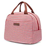 Best Lunch Bags For Ladies - LOKASS Lunch Bag Cooler Bag Women Tote Bag Review