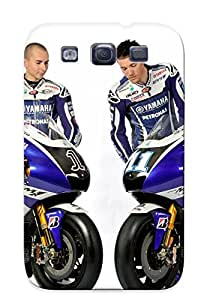 Defender Case For Galaxy S3, Jorge Lorenzo And Ben Spies Pattern