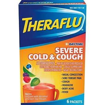 Amazon Com Theraflu Cold Flu Relief Daytime Severe Cold