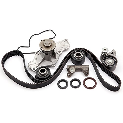ECCPP Timing Belt Kit Water Pump Fits 95-02 Mazda 626 Millenia MX6 Ford Probe 2.5L 2.5 DOHC KL K8 ()