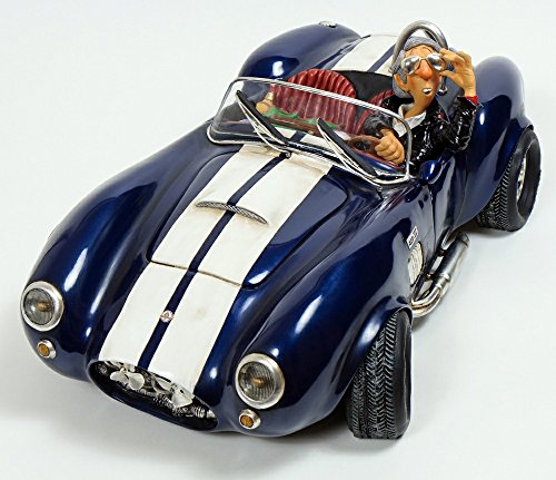 Shelby Cobra 427 S/C Figurine Comic Art Of Guillermo Forchino 13 Inch - Hide To Behind Sunglasses