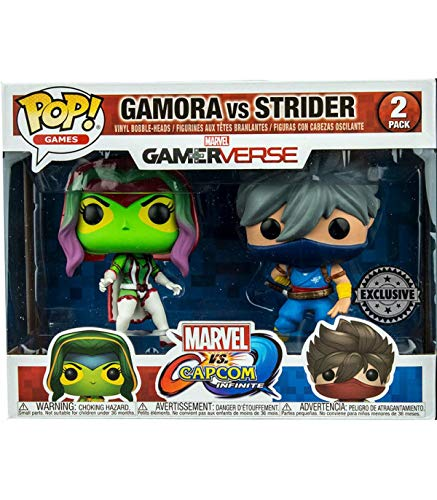 LAST LEVEL Figura Pop Pack Cap MARV Gamora VS Strider, Multicolor (FFK22785)