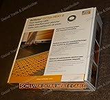Schluter Systems DITRA-HEAT-E Floor Heating DHEHK Cable All Sizes 120V & 240V (DHEHK24021 240V ( 21.4 Ft² ) 270W)