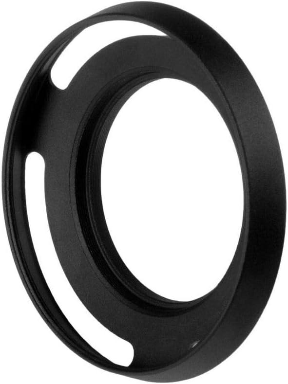 2X 40.5mm Metal Vented Lens Hood Sun Shade Sony NEX-5R NEX-6 NEX-7 NEX-3N NEX-F3