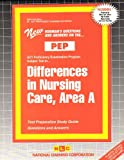 Differences in Nursing Care : Area A, Rudman, Jack, 0837355435