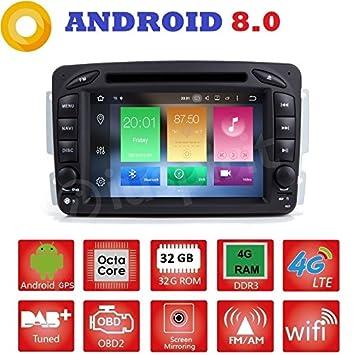 Android 8 0 GPS DVD USB SD Wi-Fi Bluetooth MirrorLink Car