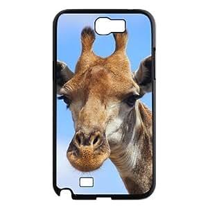 Custom cell phone For Case Samsung Galaxy Note 2 N7100 Cover LTTCVoCkK8 2 with Giraffe at SHSHU