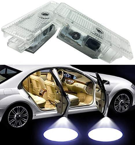 Duleutgnu 2 Stück Autotür Logo Led Türbeleuchtung Kfz Willkommen Türen Einstiegsbeleuchtung Projektor Door Logo Projektion Lichter Auto