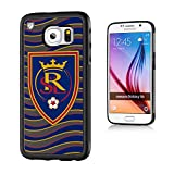 Keyscaper MLS Real Salt Lake Wave Bump Case for Galaxy S6, Black
