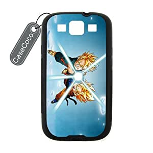 CASECOCO(TM) Dragonball Z Samsung Galaxy S3 Case - Protective Hard Back / Black Rubber Sides Case for Samsung Galaxy S3 Kimberly Kurzendoerfer