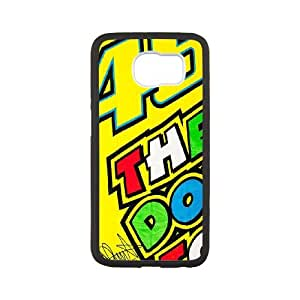 Samsung Galaxy S6 Cell Phone Case White Valentino Rossi H3700000