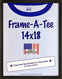 T-Shirt Frame (Black, 14x18)