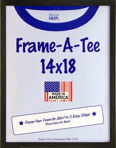 Frame USA 29302 T-Shirt Frame (Black, 14x18)
