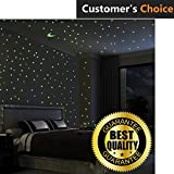 Premium Glow In The Dark Stars Wall Stickers, 100