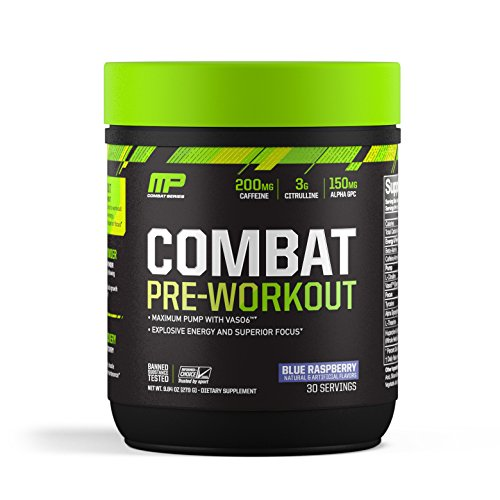 MusclePharm Pre Workout Explosive Banned Substance Raspberry product image