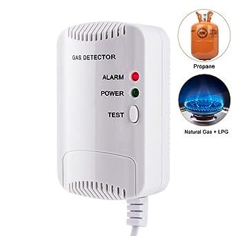 Detector de Gas, Alarma de Gas LPG/natural/ciudad, Sensor De ...