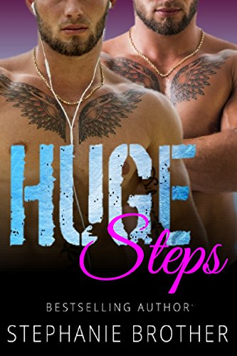 HUGE STEPS: A TWIN MFM MENAGE STEPBROTHER ROMANCE (HUGE SERIES Book 6) ()