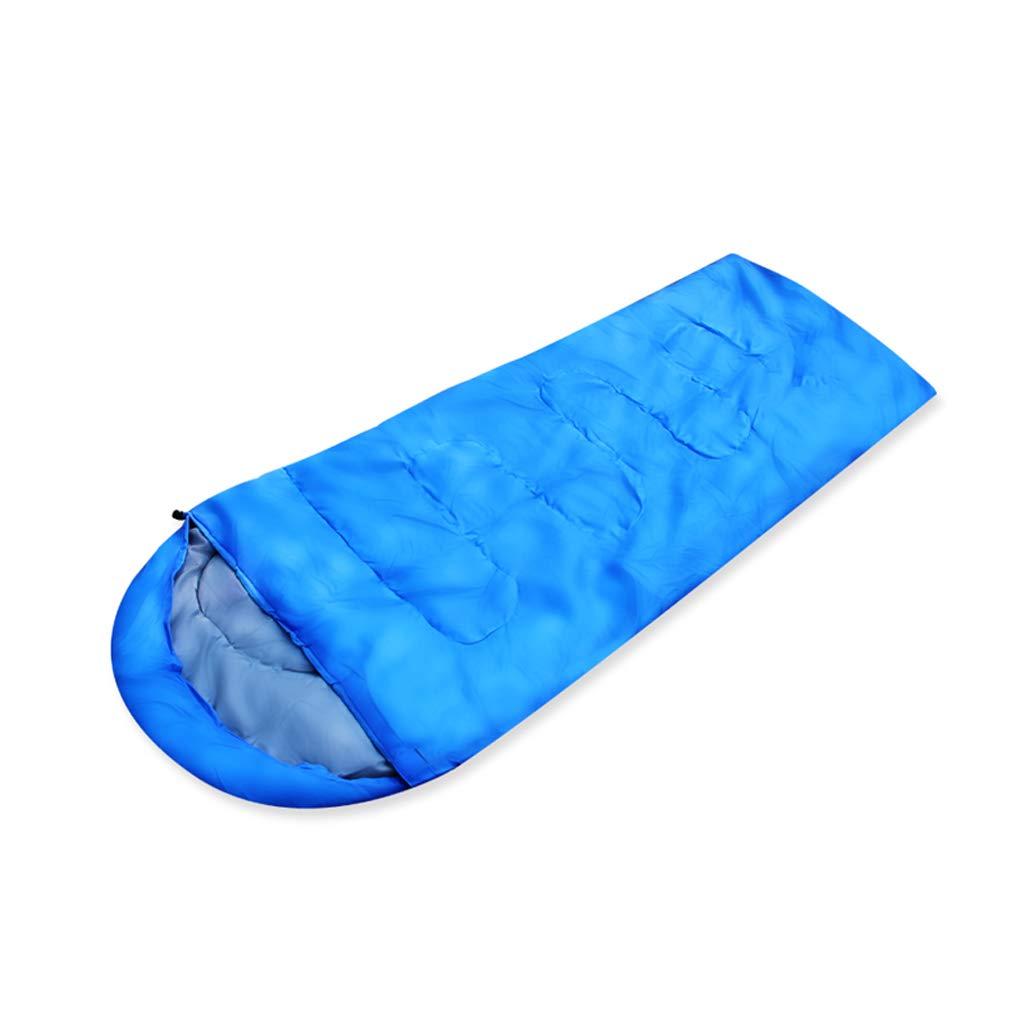 Saco de dormir LCSHAN Poliéster Adultos Estaciones al Aire Libre Acampar en el Interior Camping Viaje Individual (Color : Azul): Amazon.es: Hogar