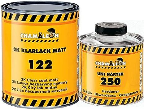 Chamäleon Klarlack Matt 2 1 2k Hs Kratzfest Acryl Lack 1l HÄrter Fast Schnell 0 5l Clear Coat Auto